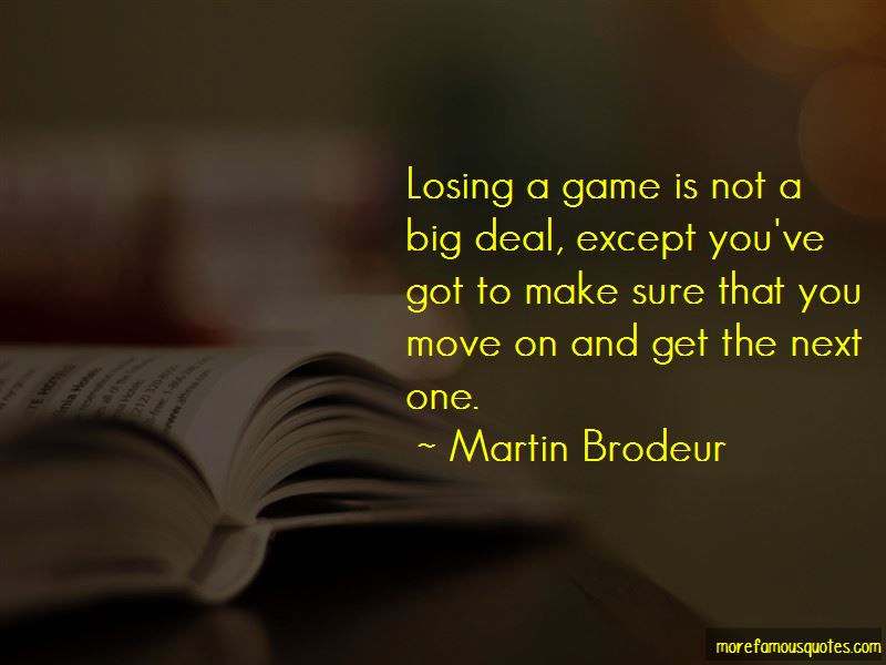 Losing The Big Game Quotes Pictures 3