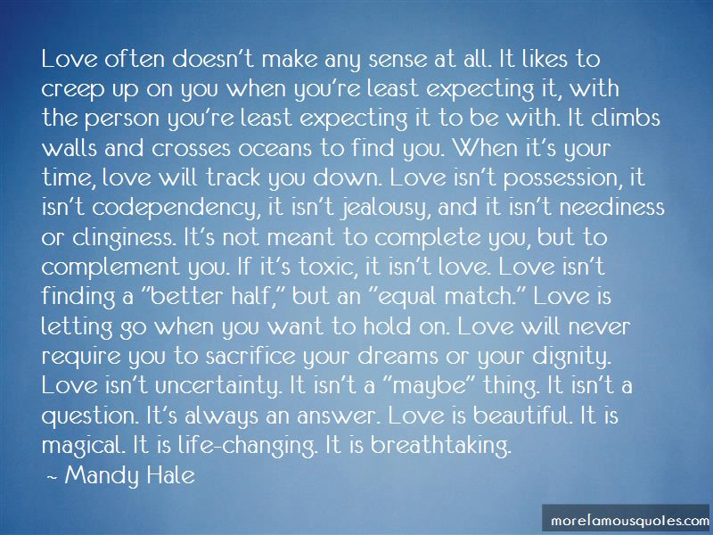 Quotes About Love Letting You Down