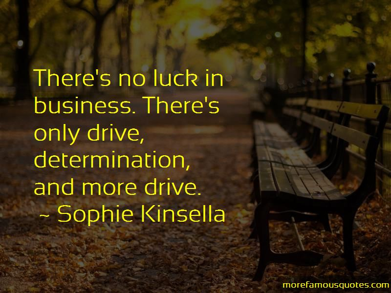Quotes About Luck In Business
