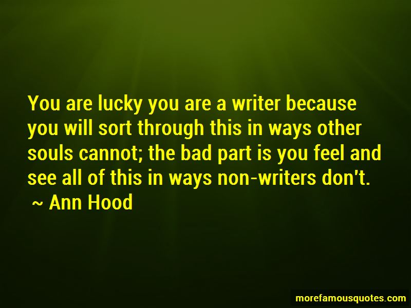 Quotes About Lucky You