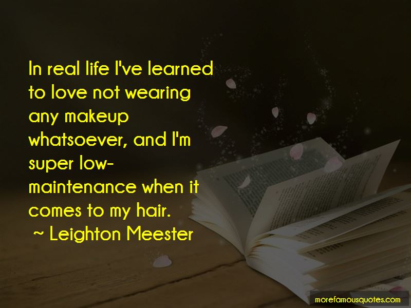 Quotes About Makeup And Life