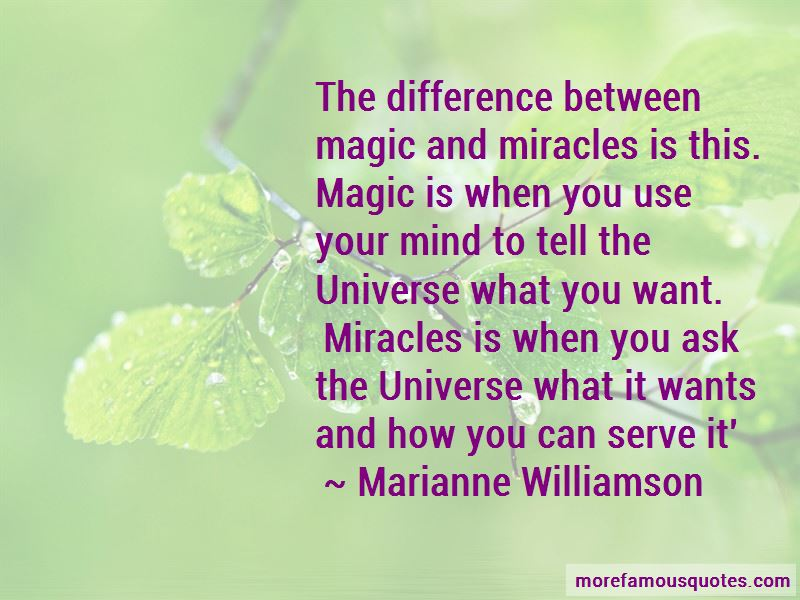 Miracles And Magic Quotes Pictures 4