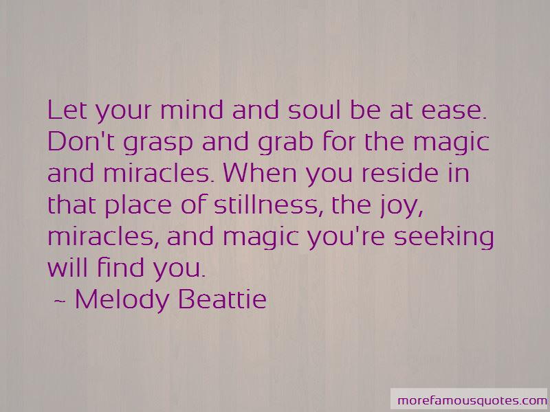 Quotes About Miracles And Magic