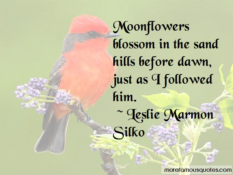 Quotes About Moonflowers