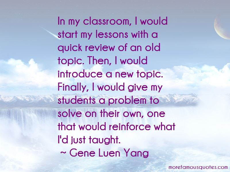 Quotes About My Classroom