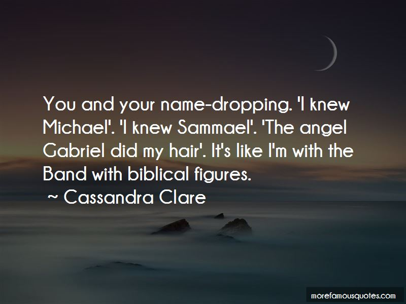 Quotes About Name Dropping
