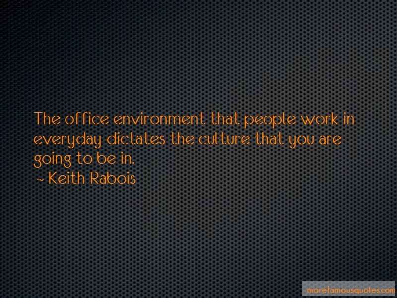 Quotes About Office Environment