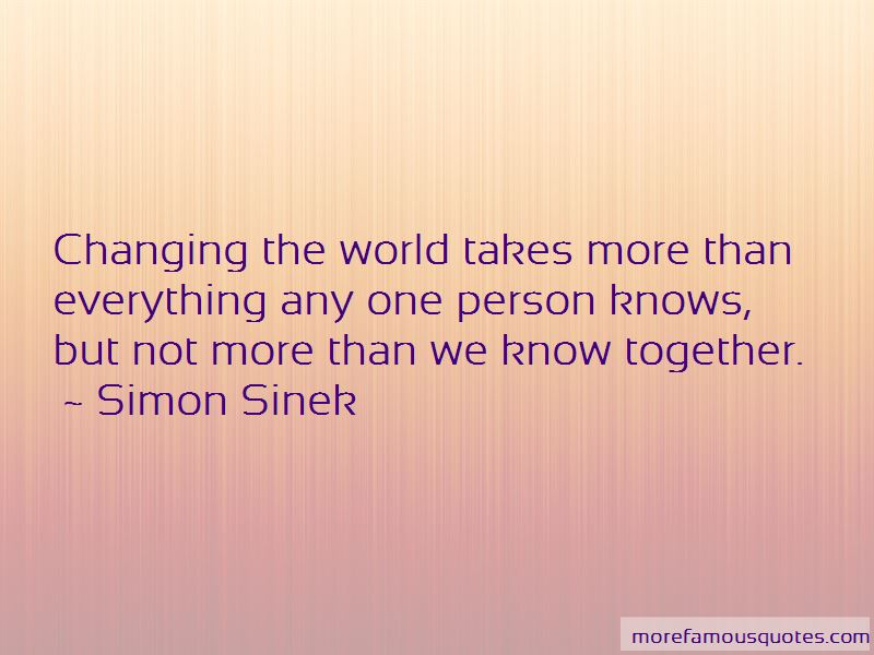 One Person Changing Everything Quotes Pictures 2