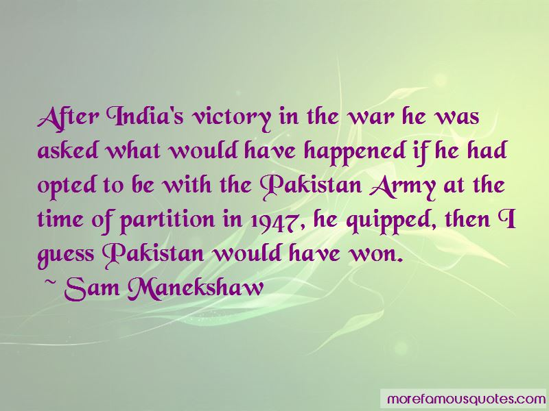 Quotes About Pakistan Army
