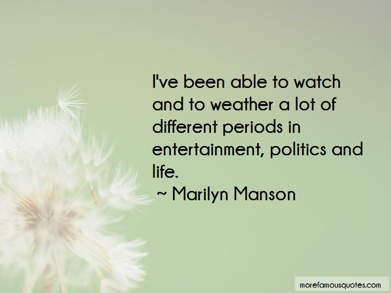 Quotes About Politics And Life