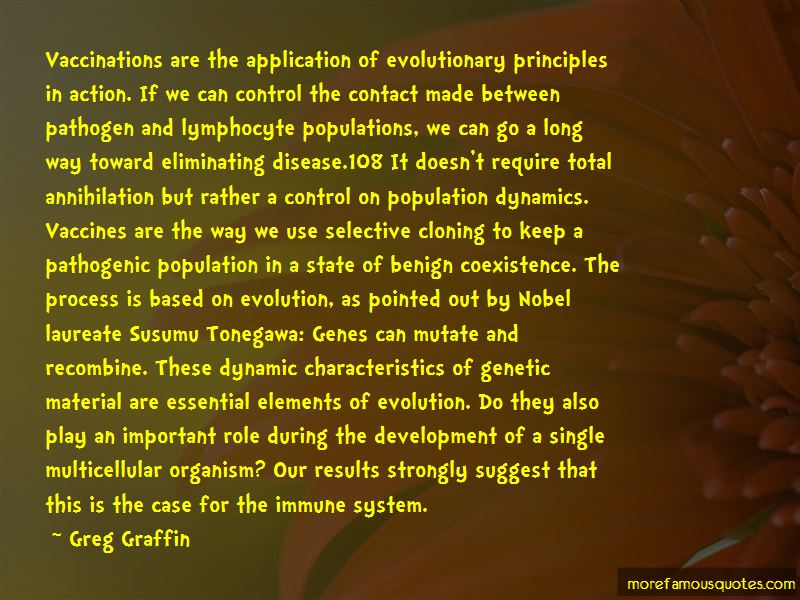 Quotes About Population Dynamics