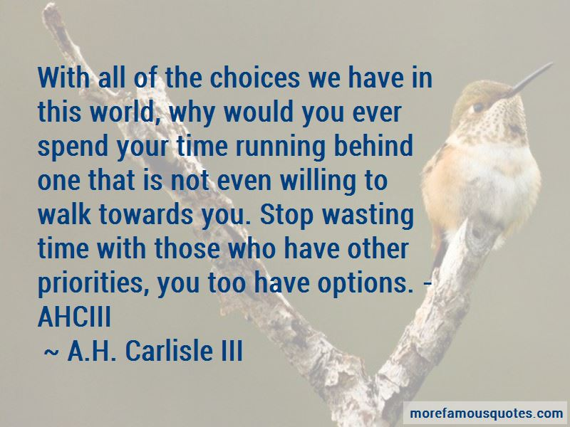 Priorities And Options Quotes Pictures 3