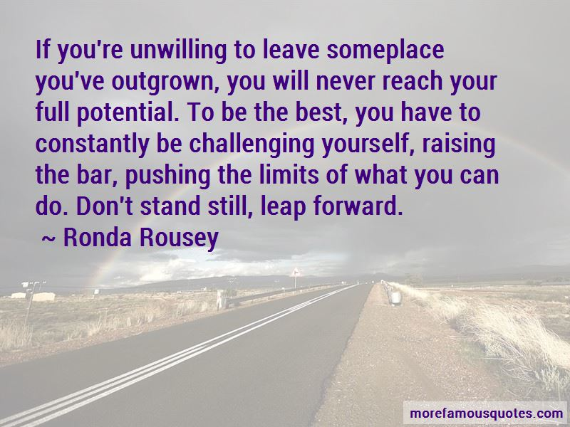 Pushing Yourself To The Limits Quotes Pictures 3