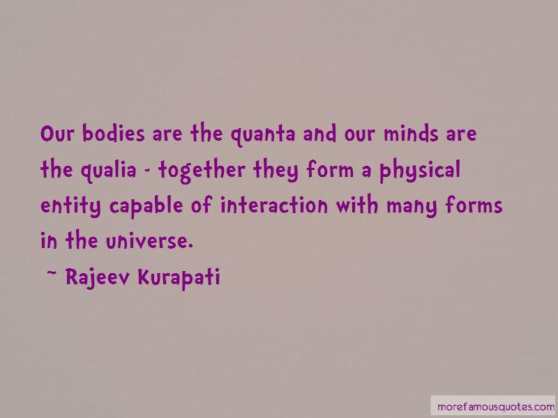 Quotes About Qualia