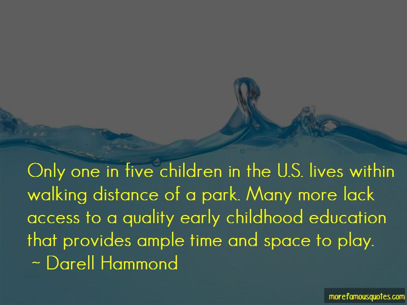 quotes about quality early childhood education top quality