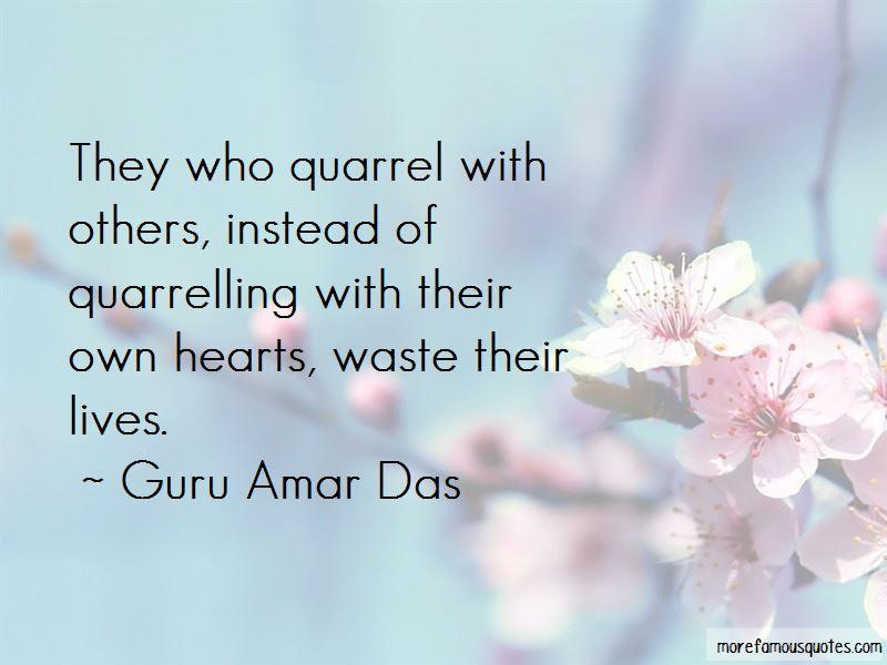 Quotes About Quarrel