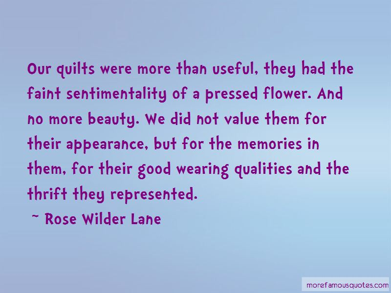 Quotes About Quilts And Memories