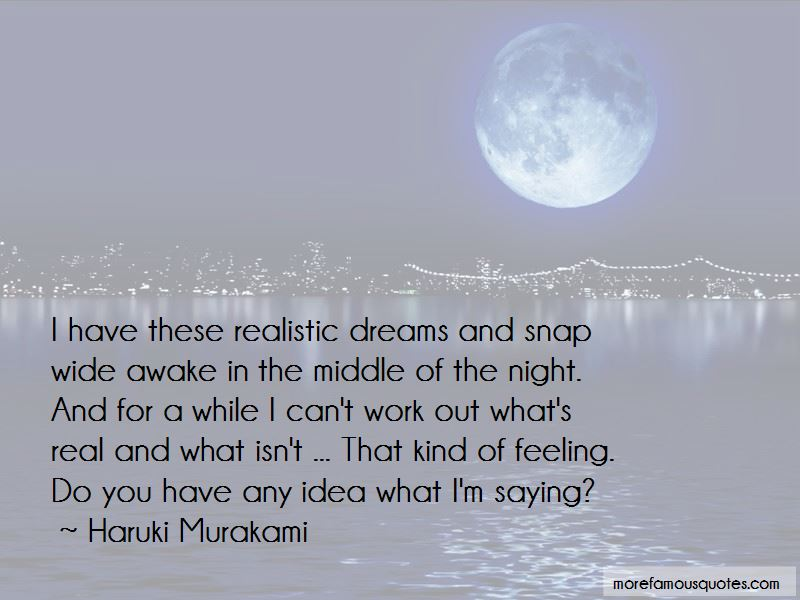 Quotes About Realistic Dreams