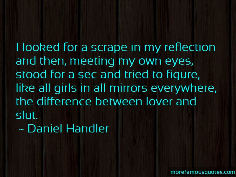 Quotes About Reflection In Eyes