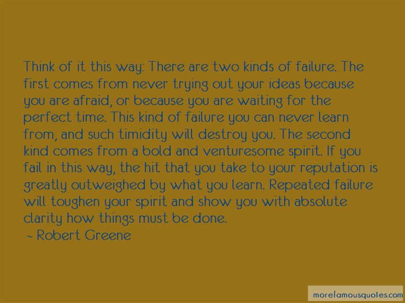 Quotes About Repeated Failure
