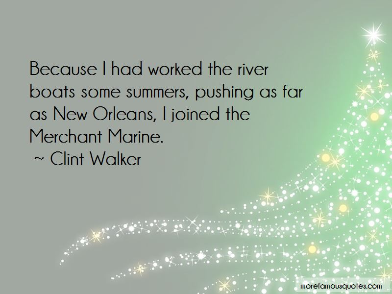Quotes About River Boats
