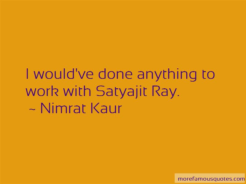 Quotes About Satyajit Ray