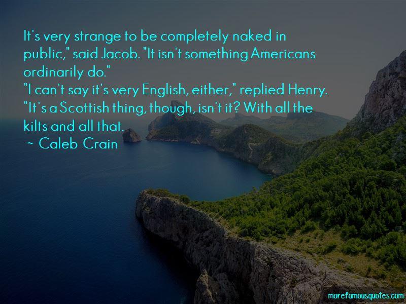 Quotes About Scottish Kilts