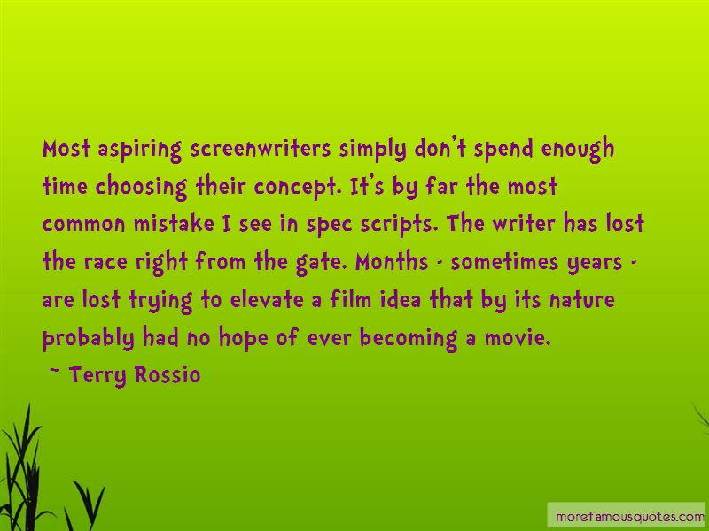 Quotes About Screenwriters