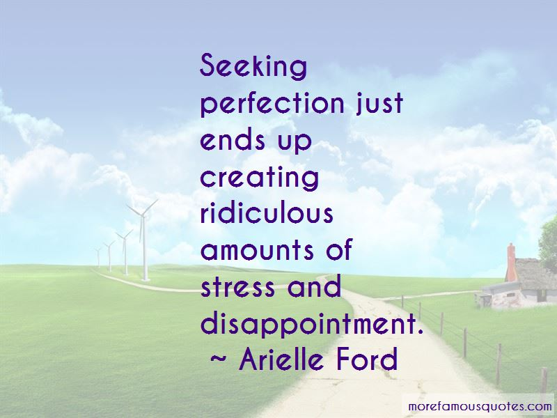Quotes About Seeking Perfection
