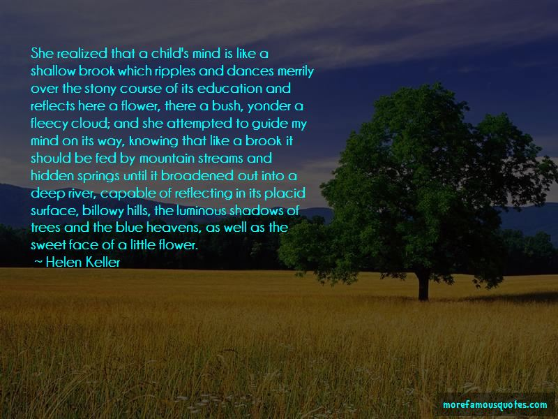 Quotes About Shallow River