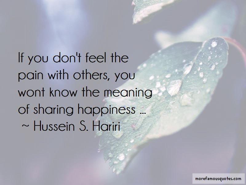 Quotes About Sharing Happiness