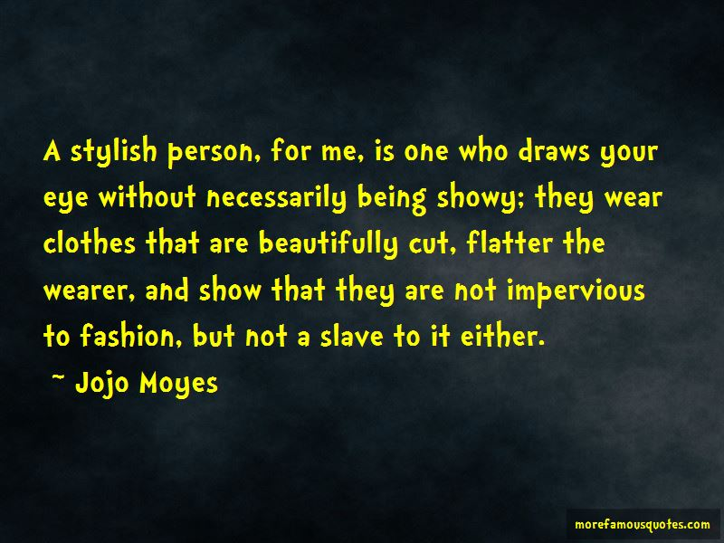Quotes About Showy Person