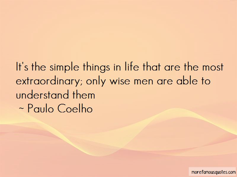 Quotes About Simple Things In Life