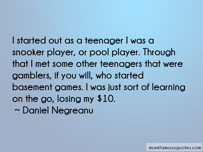 Quotes About Snooker