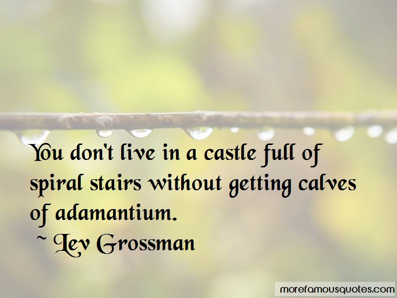 Quotes About Spiral Stairs