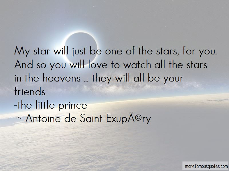 Stars The Little Prince Quotes Pictures 3