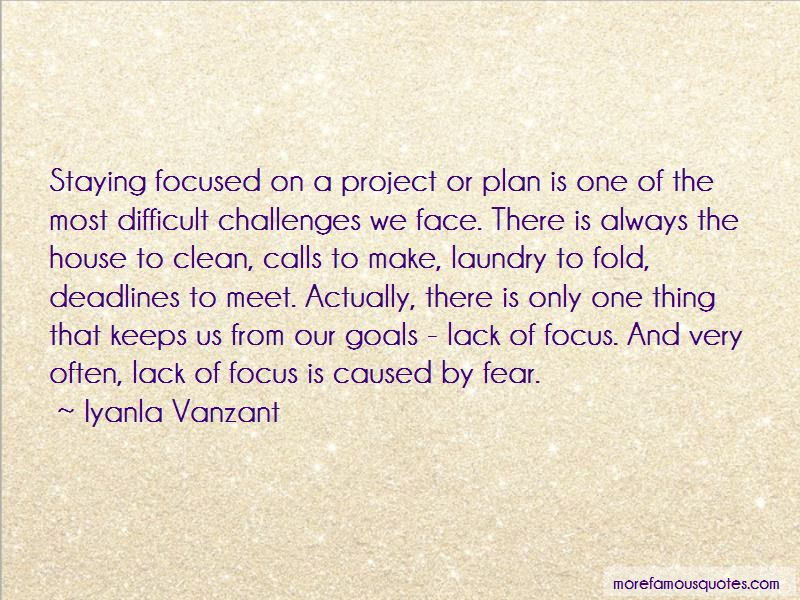 Quotes About Staying Focused: top 29 Staying Focused quotes ...