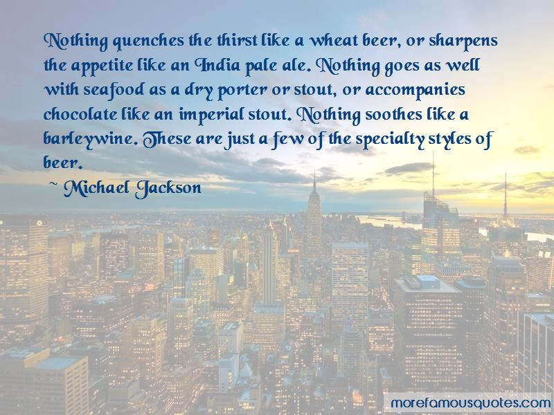 Quotes About Stout Beer