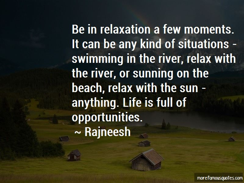 Quotes About Swimming In The River