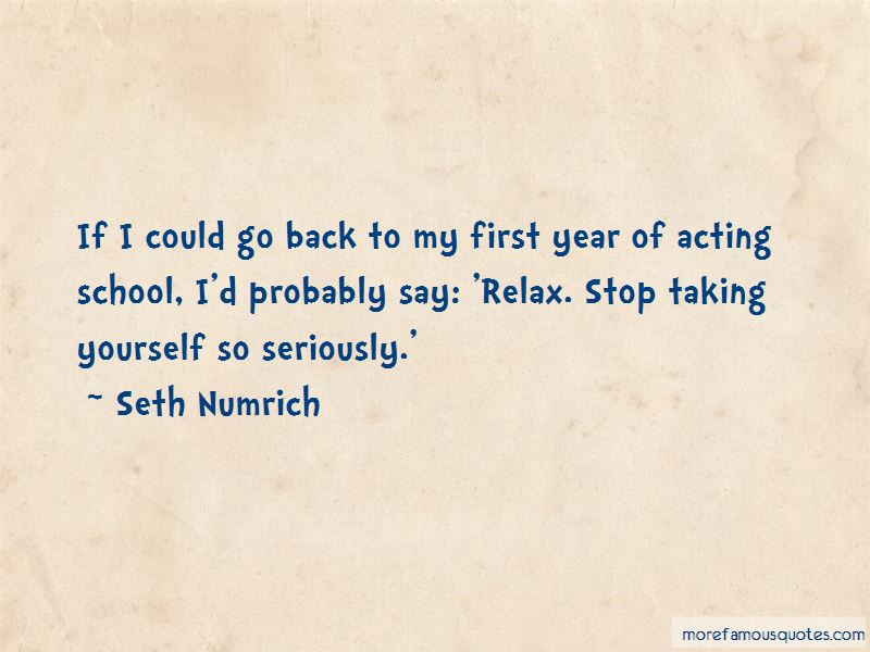 Quotes About Taking School Seriously