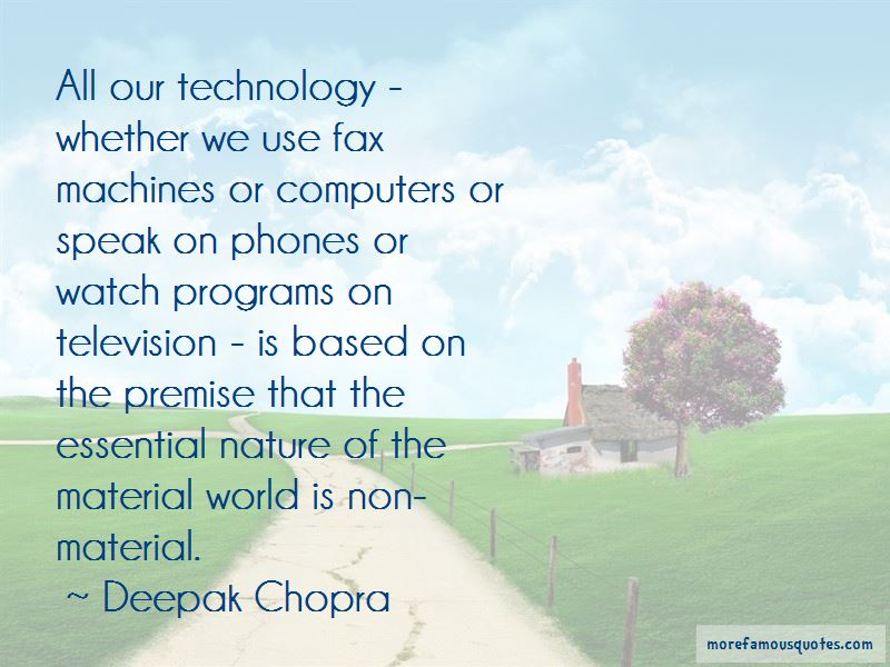 Technology Vs Nature Quotes Pictures 4