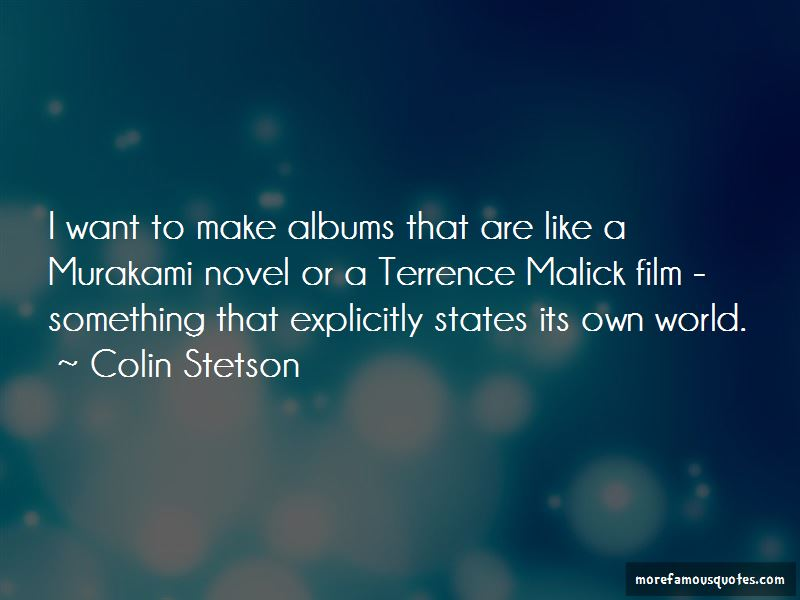 Terrence Malick Quotes Pictures 2