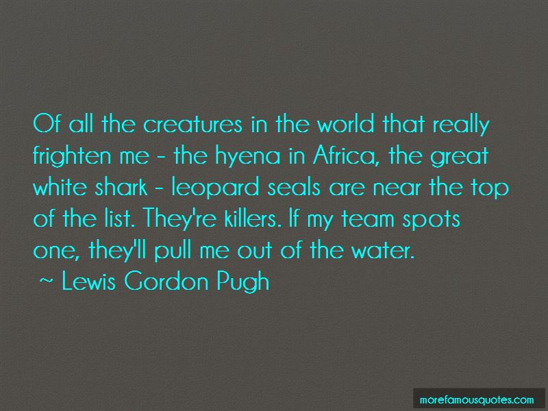 Quotes About The Great White Shark: Top 14 The Great White
