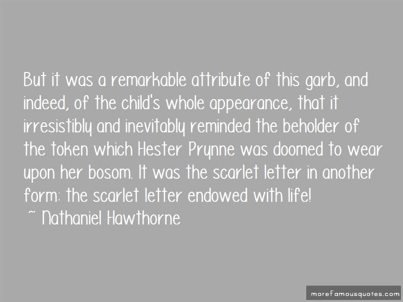 Quotes About The Letter A In The Scarlet Letter