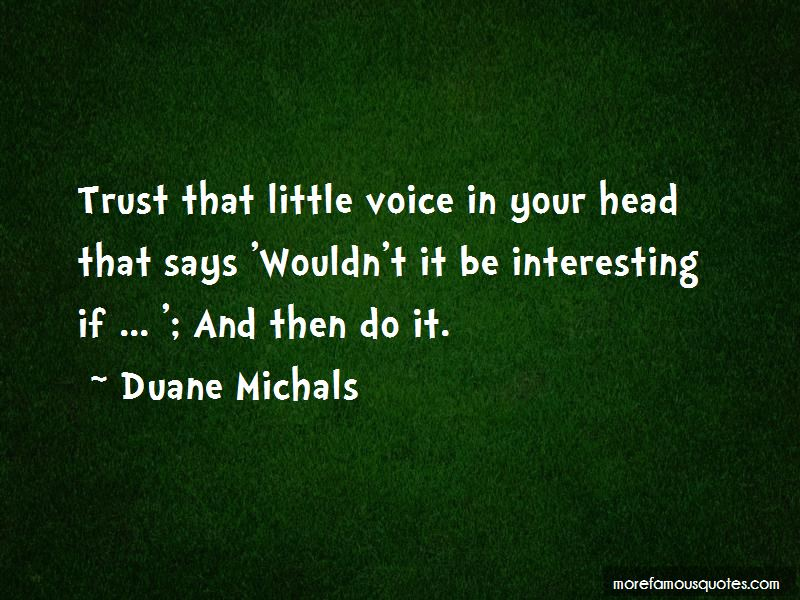 The Little Voice In Your Head Quotes Pictures 2