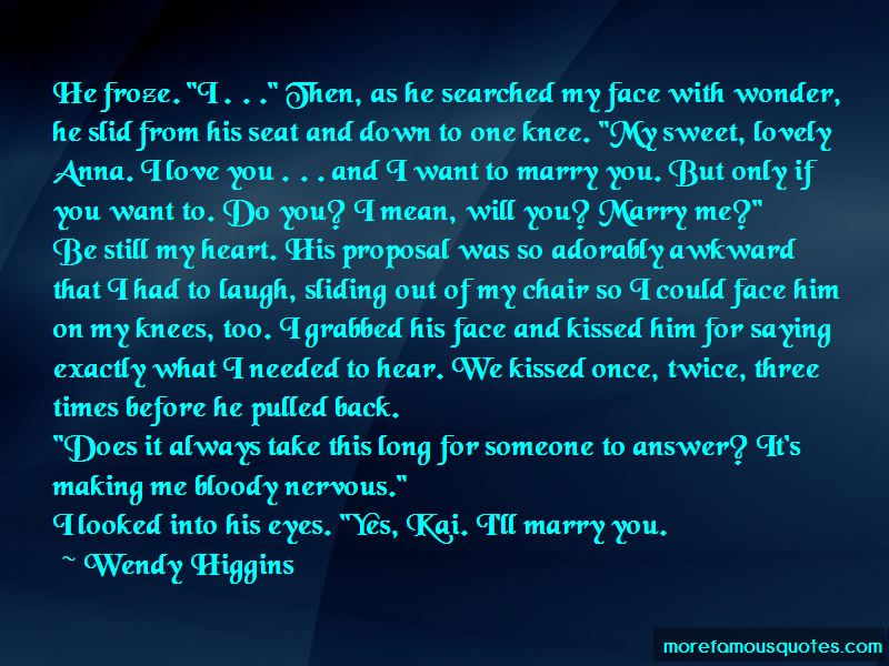 The One You Want To Marry Quotes Pictures 3