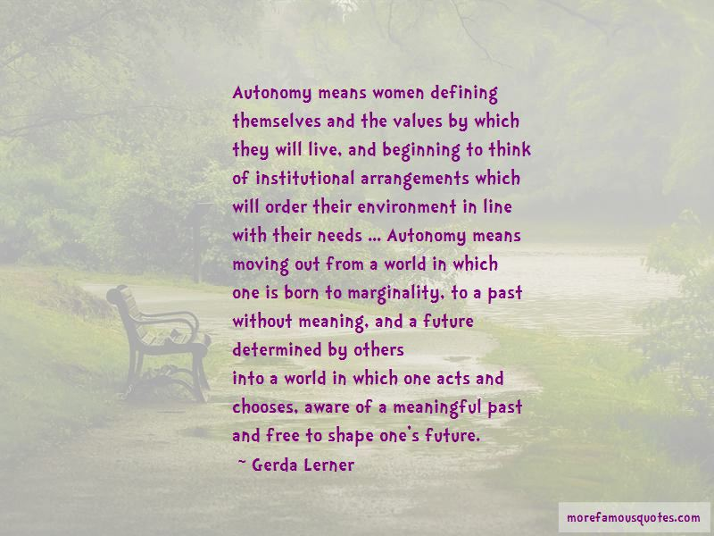Quotes About The Past Defining The Future