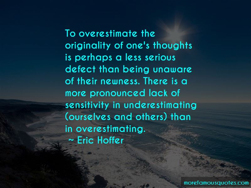 Quotes About Underestimating