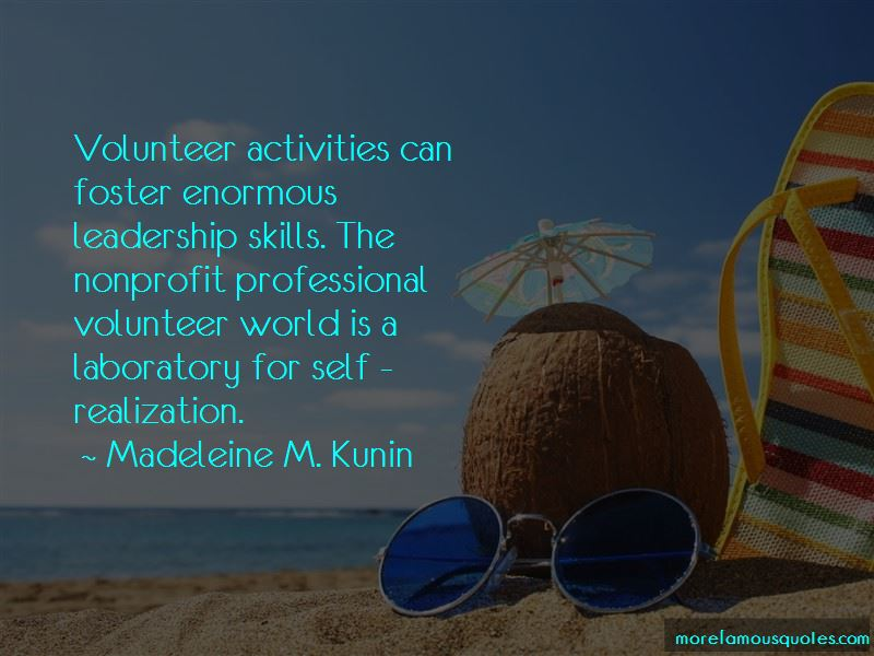 Volunteer Leadership Quotes Pictures 2
