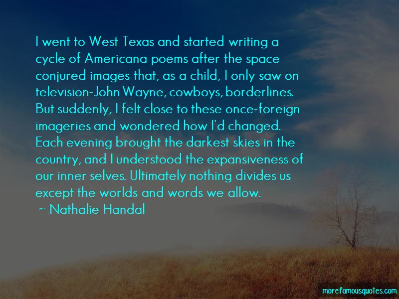 Quotes About West Texas